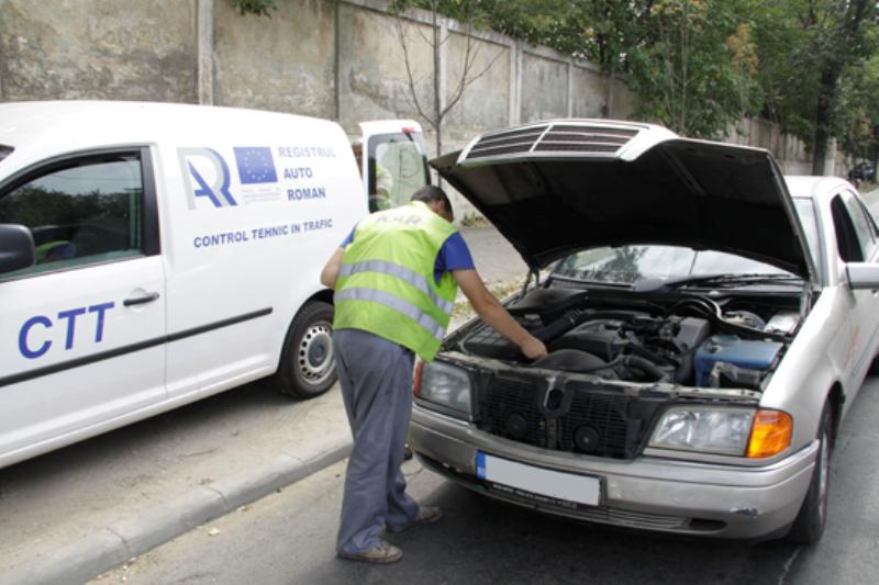 Maşinile cu probleme tehnice sunt eliminate din trafic