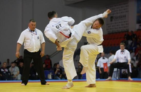 Concurs internaţional de karate la  Sibiu