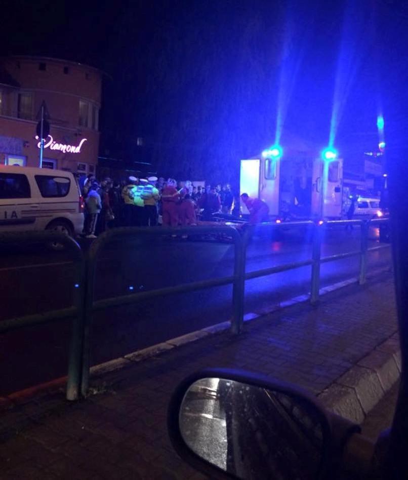 UPDATE Accident cu pieton în această seară la Tîrgu-Mureş