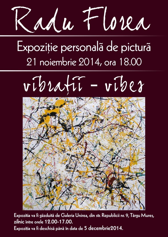 Vibraţii, o nouă expoziţie de pictură semnată Radu Florea