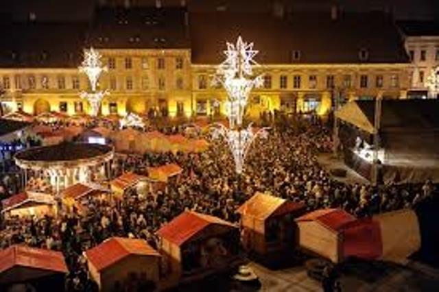 Târgul de Crăciun la Sibiu începe!