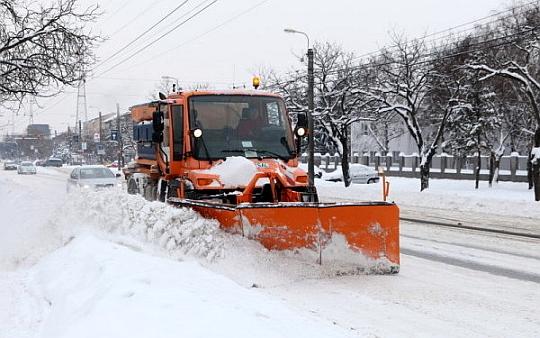 Brașovul este pregătit pentru venirea iernii