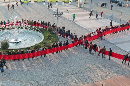 Fundă Umană pe 2 Decembrie, la Tîrgu-Mureş