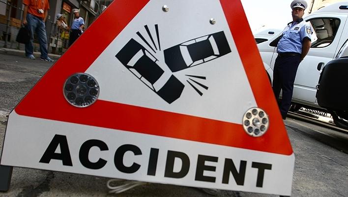 Accident la ieşirea din Miercurea Ciuc către Odorheiu Secuiesc