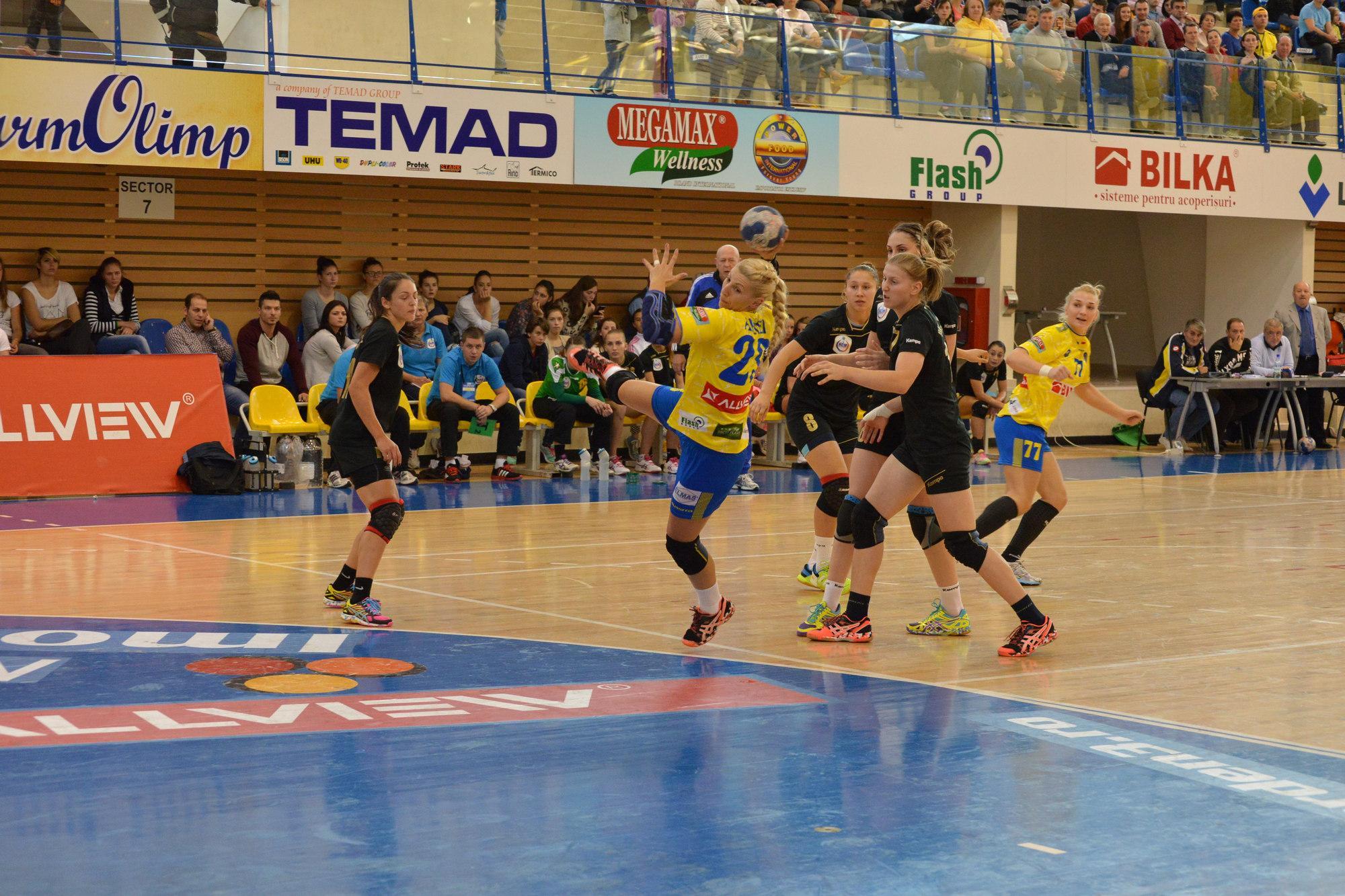 Adversar dificil pentru Corona Braşov în optimile Cupei EHF