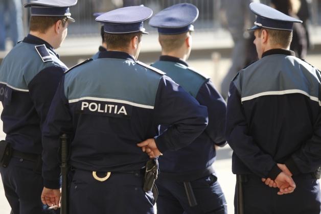 40 de poliţişti mureşeni vor participa la mitingul din capitală