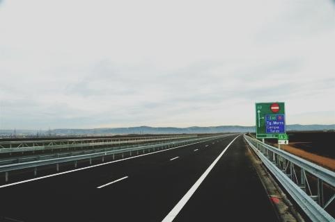 Trafic în siguranţă pe autostrada Sibiu – Orăştie