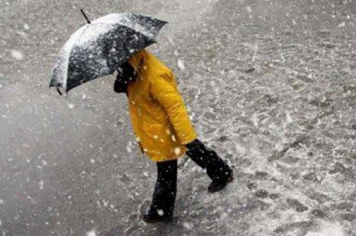 Ploi şi lapoviţă la Tîrgu-Mureş de 1 Decembrie