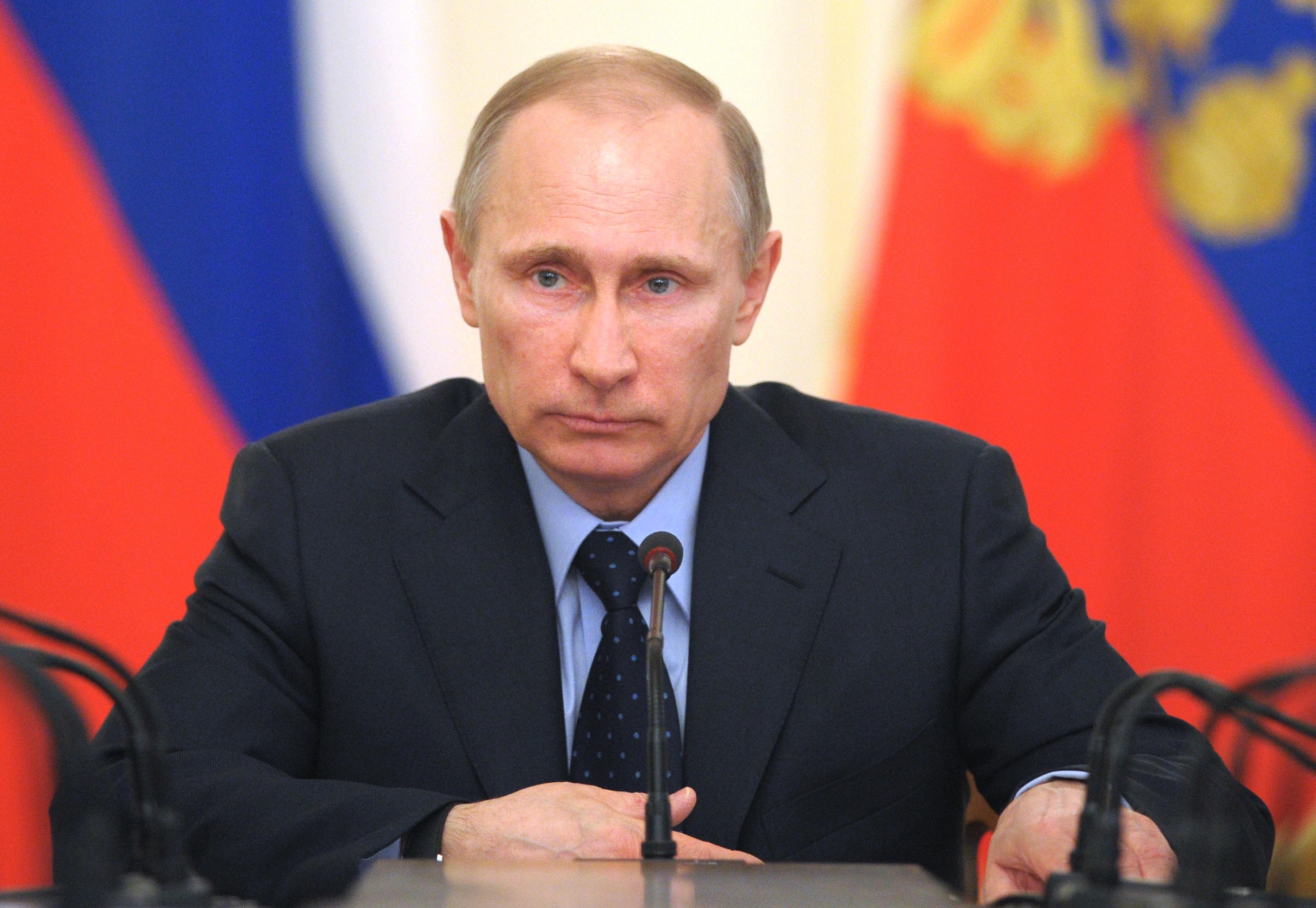 Vladimir Putin i-a adresat un mesaj de felicitare lui Klaus Iohannis