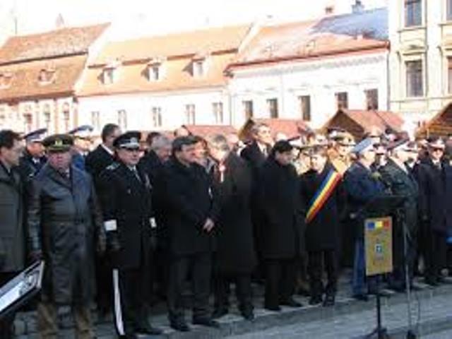 Festivităţi organizate la Braşov de Ziua Națională