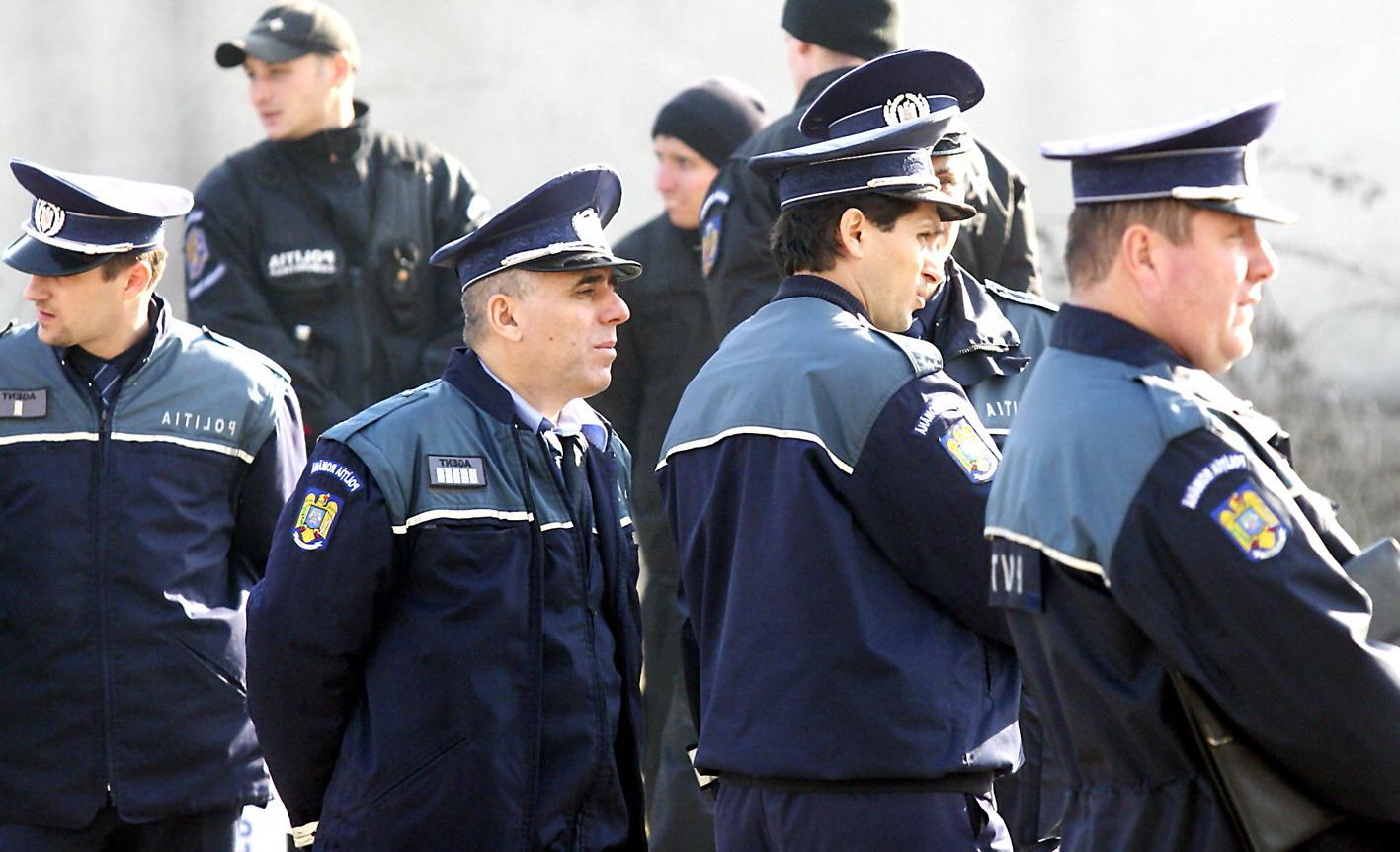 S-a încheiat protestul poliţiştilor