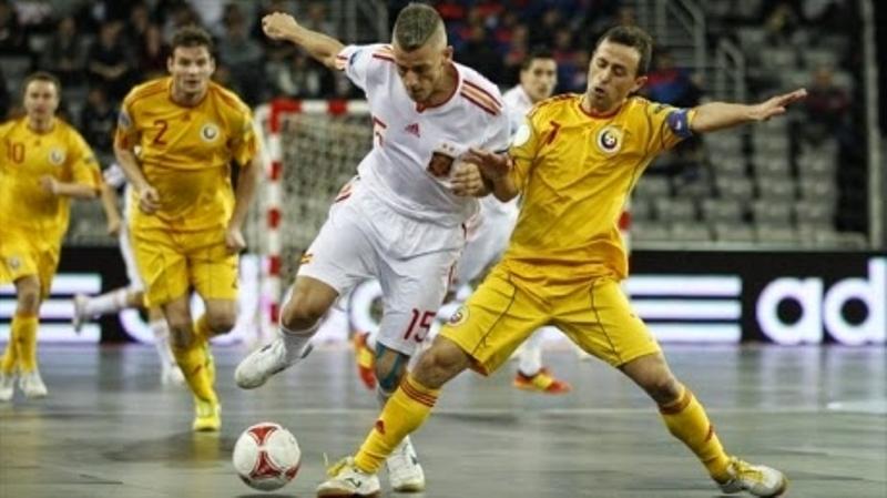 Futsal -România, învinsă la Deva!