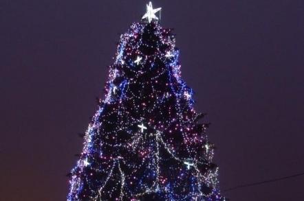 Astăzi, la ora 17,00, se aprinde iluminatul festiv în comuna Sângeorgiu de Mureş