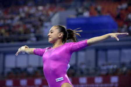 Gimnastică artistică: Larisa Iordache a cucerit aurul la Cupa Mondială de la Glasgow !