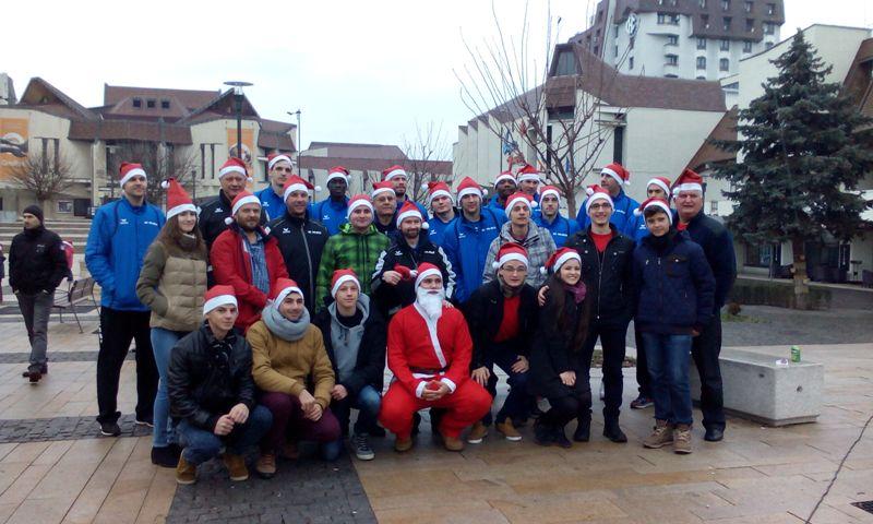 Aproximativ 500 de mureșeni participa la crosul de Moș Nicolae