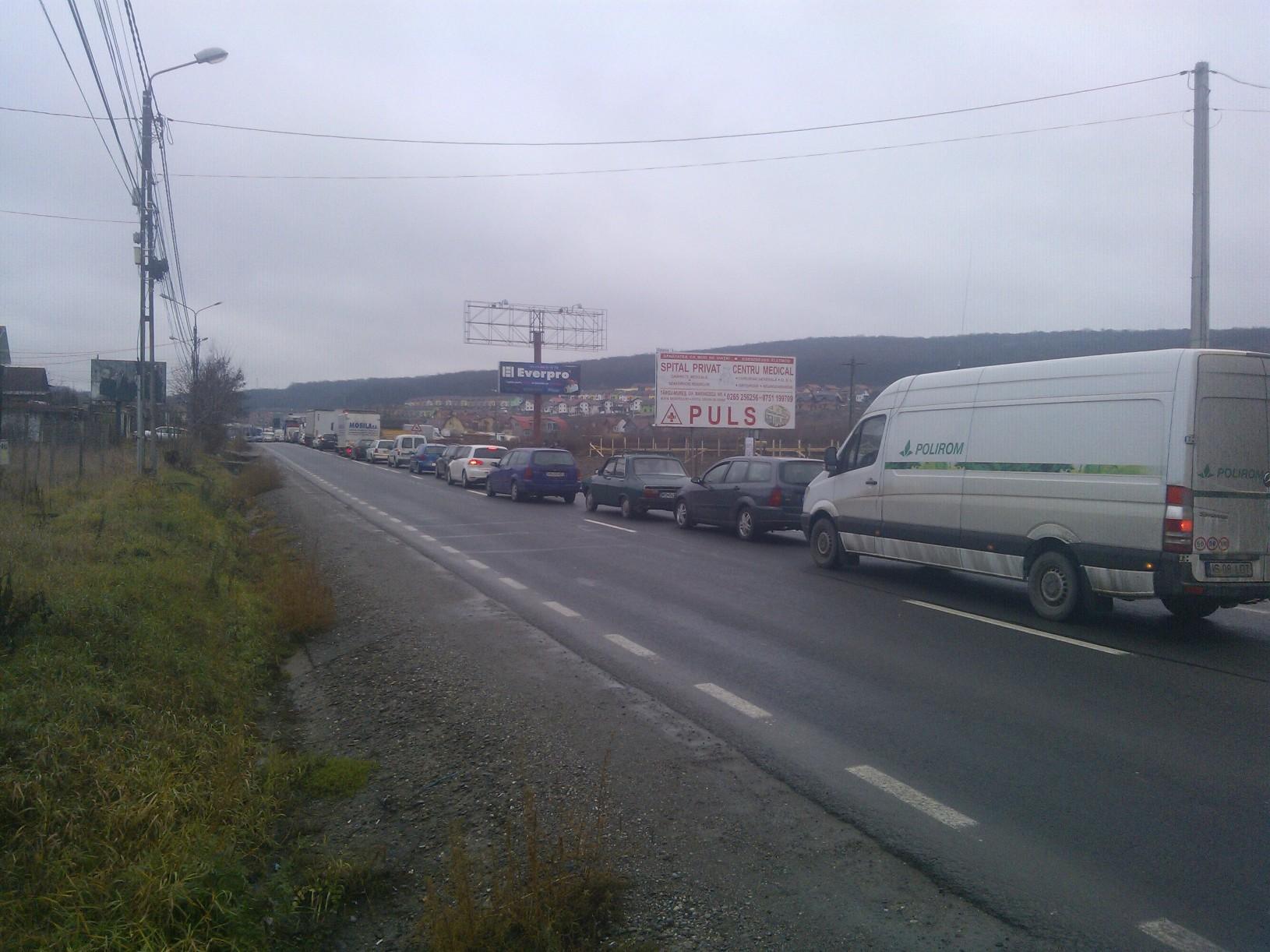 Grav accident rutier  la Corunca în această dimineaţă