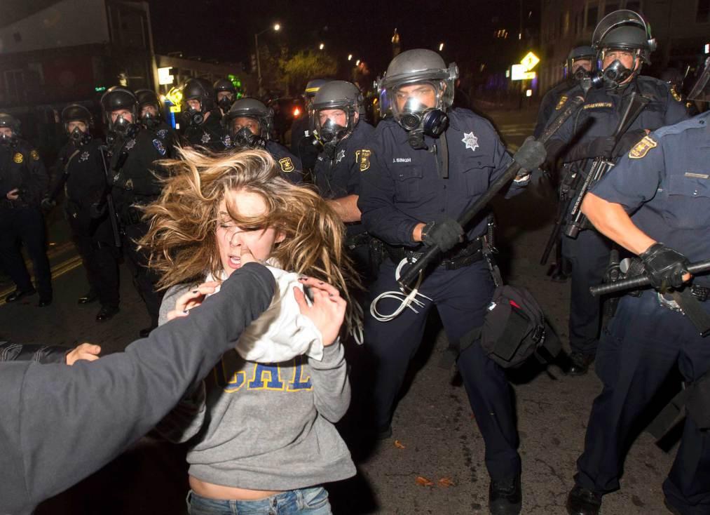 Proteste violente în America