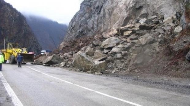 Drum închis din cauza aluviunilor