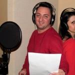 Veronica Ilie  si Cristian Craciun  lansare piesa Radio Tg.Mures