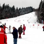 Partia de schi, Clabucet.