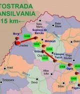 Nouă companii au câştigat licitaţiile pentru Autostrada Câmpia Turzii-Târgu Mureş
