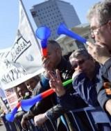 sindicalisti-protest