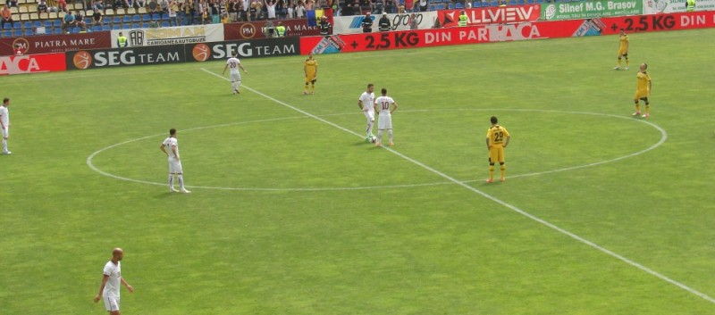 "Duminică, un alt meci dificil pentru ,,stegari"" : FC Braşov – Astra Giurgiu"