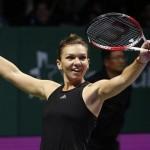 Simona Halep s-a calificat în finala de la Dubai