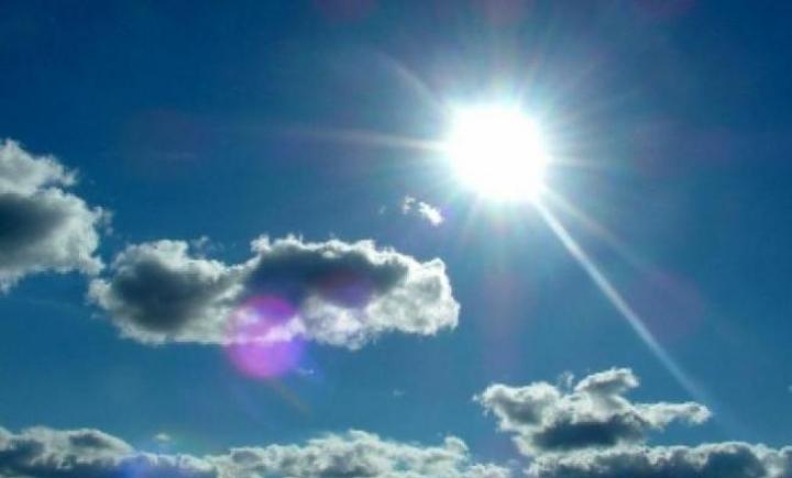 Vremea va fi relativ caldã