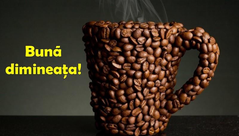 Buna dimineata - ceasca de cafea