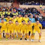 România, cu 4 târgumureşeni în lot, începe mâine cursa pentru  Futsal Euro 2016