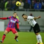 Steaua  s-a calificat în finala Cupei Ligii la fotbal