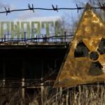Incendiul din apropierea centralei nucleare Cernobâl,