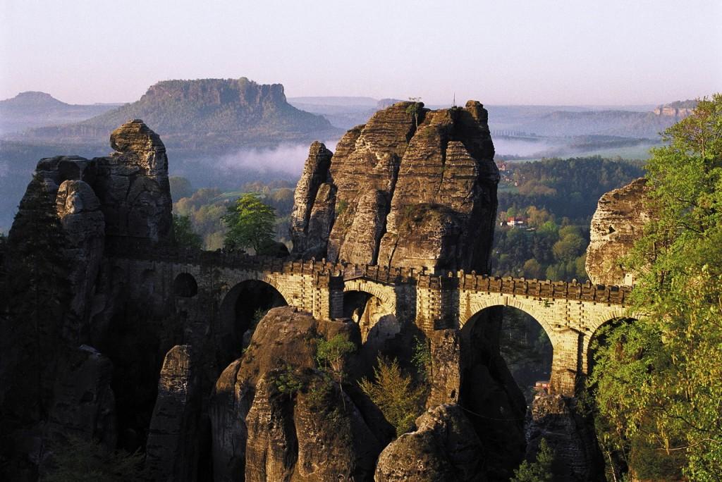 Parcul Saxon Switzerland din Germania  Foto: www.germany.travel