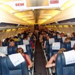 Passengers   plane.