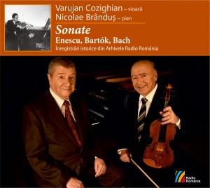 Cozighian, Brandus - Sonate - coperta