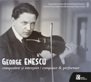 George Enescu - compozitor si interpret - coperta