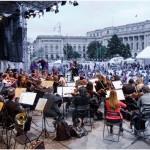 Orchestra Nationala Radio in aer liber_ Foto Alexandru Dolea
