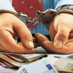 evaziune fiscala, bani, catuse, persoana arestata