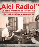 02. Afis Landscape - ''Aici Radio!''m