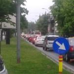 Trafic ploaie Bucuresti-FM
