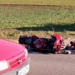 accident grav motociclist