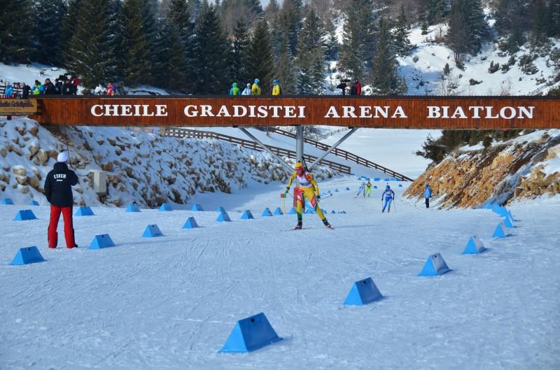 arena biatlon Cheile Gradistei