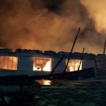 incendiu harman depozit mobila