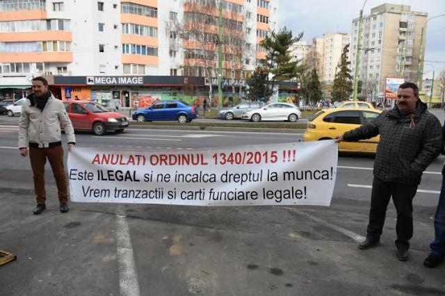 protest topografi Brasov