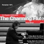 poster The Charming Flute NY & Washington