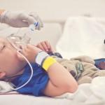 spital copil intubat