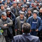 mineri protest