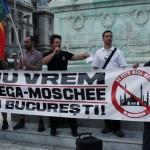 protest moschee