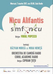 Concert 1martie NicuAlifantis  afis
